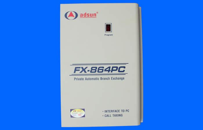 Tổng đ�i ADSUN  - Tổng đ�i điện thoại ADSUN FX 864PC-856 - Tổng đ�i điện thoại ADSUN FX 864PC-856